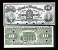 Canadian Currency: , Montreal, PQ- The Bank of Montreal $10 Jan. 2, 1895 Ch. 505-44-04P Face and Back Proofs. ... (Total: 2 notes)