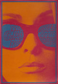 "Music Memorabilia:Posters, Chambers Brothers Matrix Concert Poster NR-12 (Neon Rose, 1967) 14""x 20""...."