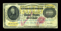 Large Size:Gold Certificates, Fr. 1225 $10000 1900 Gold Certificate Fine....