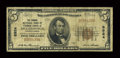 National Bank Notes:Pennsylvania, Hughesville, PA - $5 1929 Ty. 1 The Grange NB of Lycoming CountyCh. # 8924. ...