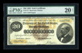 Large Size:Gold Certificates, Fr. 1177 $20 1882 Gold Certificate PMG Very Fine 20 Net....