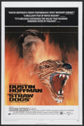 "Movie Posters:Crime, Straw Dogs (Cinerama Releasing, 1972). One Sheet (27"" X 41"") StyleD. Crime...."