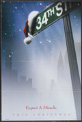 """Movie Posters:Fantasy, Miracle on 34th Street (20th Century Fox, 1994). One Sheet (26.75""""X 39.5"""") DS Advance Style A. Fantasy...."""