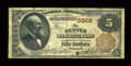 National Bank Notes:Colorado, Denver, CO - $5 1882 Brown Back Fr. 467 The Denver NB Ch. # 3269....