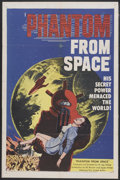 "Movie Posters:Science Fiction, Phantom From Space (United Artists, 1953). One Sheet (27"" X 41"").Science Fiction...."