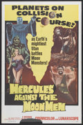 "Movie Posters:Fantasy, Hercules Against the Moon Men (Governor Films, 1965). One Sheet (27"" X 41""). Fantasy...."