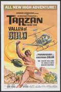 "Movie Posters:Adventure, Tarzan and the Valley of Gold (American International, 1966). OneSheet (27"" X 41""). Adventure...."