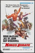 "Movie Posters:Adventure, King's Pirate (Universal, 1967). One Sheet (27"" X 41"").Adventure...."