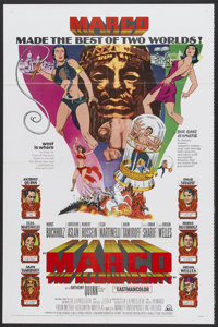 """Marco the Magnificent (MGM, 1966). One Sheet (27"""" X 41""""). Adventure"""