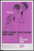 "Movie Posters:Drama, The Children's Hour (United Artists, 1962). One Sheet (27"" X 41"").Drama...."