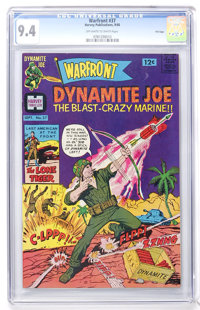 Warfront #37 File Copy (Harvey, 1966) CGC NM 9.4 Off-white to white pages