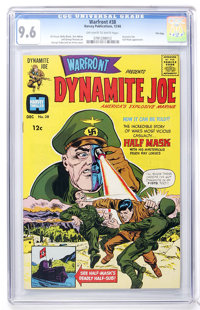 Warfront #38 File Copy (Harvey, 1966) CGC NM+ 9.6 Off-white to white pages