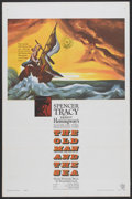 "Movie Posters:Adventure, The Old Man and the Sea (Warner Brothers, 1958). One Sheet (27"" X41""). Adventure...."