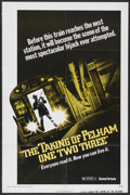 """Movie Posters:Crime, The Taking of Pelham One Two Three (United Artists, 1974). OneSheet (27"""" X 41"""") Advance. Crime...."""