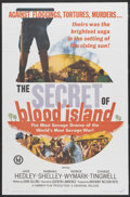 "Movie Posters:War, The Secret of Blood Island (Universal, 1965). One Sheet (27"" X41""). War...."
