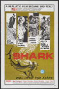"Movie Posters:Adventure, Shark! (Excelsior, 1969). One Sheet (27"" X 41""). Adventure...."