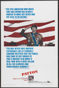 "Movie Posters:Academy Award Winner, Patton (20th Century Fox, 1970). One Sheet (27"" X 41""). AcademyAward Winner...."
