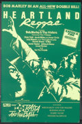 "Movie Posters:Documentary, Heartland Reggae (Blue Dolphin, 1980). British Double Crown (19"" X 29""). Documentary...."