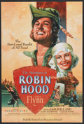 "Movie Posters:Adventure, The Adventures of Robin Hood (Turner Entertainment, R-1989). OneSheet (27"" X 40""). Adventure...."
