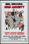 """Movie Posters:Comedy, High Anxiety (20th Century Fox, 1977). One Sheet (27"""" X 41"""") Style B. Comedy...."""