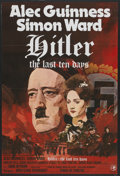 "Movie Posters:War, Hitler: The Last Ten Days (MGM, 1973). British One Sheet (27"" X40"") Tri-Folded. War...."