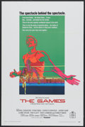 "Movie Posters:Sports, The Games (20th Century Fox, 1970). One Sheet (27"" X 41""). Sports...."