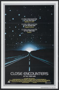 """Movie Posters:Science Fiction, Close Encounters of the Third Kind (Columbia, 1977). One Sheet (27""""X 41"""") Tri-Folded. Science Fiction...."""
