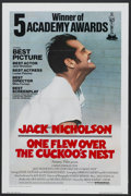 "Movie Posters:Academy Award Winner, One Flew Over the Cuckoo's Nest (United Artists, 1975).International One Sheet (27"" X 41"") Tri-Folded Academy Award Style...."