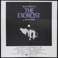 "Movie Posters:Horror, The Exorcist (Warner Brothers, 1974). Six Sheet (81"" X 81""). Horror...."