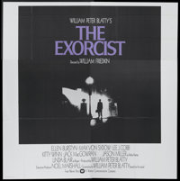 "The Exorcist (Warner Brothers, 1974). Six Sheet (81"" X 81""). Horror"
