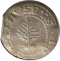 1652 SHILNG Pine Tree Shilling, Large Planchet AU50 PCGS. With pellets at trunk. Noe-1, Crosby 12-I, R.2. 68.7 grains. T...