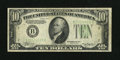Error Notes:Inverted Reverses, Fr. 2006-B $10 1934A Inverted Reverse Federal Reserve Note. VeryFine.. This Inverted Reverse error circulated evenly before...