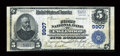 National Bank Notes:Colorado, Englewood, CO - $5 1902 Plain Back Fr. 601 The First NB Ch. # 9907....