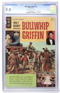 Silver Age (1956-1969):Adventure, Movie Comics - Bullwhip Griffin File Copy (Gold Key, 1967) CGC NM 9.4 Off-white to white pages....