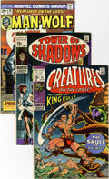 Bronze Age (1970-1979):Horror, Creatures on the Loose/Tower of Shadows Group (Marvel, 1971-75)Condition: Average VF.... (Total: 26 Comic Books)