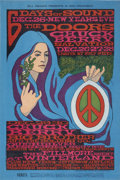 Music Memorabilia:Posters, Doors/Chuck Berry/Big Brother and the Holding Company WinterlandConcert Poster BG-99 (Bill Graham, 1967)....