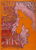 Music Memorabilia:Posters, Big Brother and the Holding Company Ark Concert Poster (The Ark,1967)....
