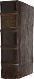 Books:Non-fiction, [Johannes Sleidanus]. A Famouse Cronicle of Oure Time, CalledSleidanes Commentaries, Concerning the State of Religion a...