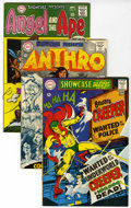 Silver Age (1956-1969):Miscellaneous, Showcase Group (DC, 1968-69) Condition: Average VF.... (Total: 5Comic Books)