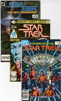 Modern Age (1980-Present):Science Fiction, Star Trek Group (Marvel and DC, 1980-90) Condition: Average NM-....(Total: 71 Comic Books)