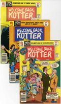 Bronze Age (1970-1979):Humor, Welcome Back, Kotter #1-6 Group (DC, 1976-77) Condition: AverageNM-.... (Total: 6 Comic Books)