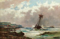 Fine Art - Painting, European:Antique  (Pre 1900), Attributed to ABRAHAM HULK, JR. (British, 1851-1922). RoughSeas. Oil on canvas. 20 x 30 inches (50.8 x 76.2 cm). Signed...