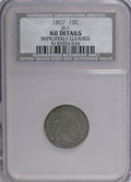 Early Dimes, 1807 10C --Improperly Cleaned--NCS. AU Details....