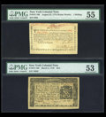 Colonial Notes:New York, Four High Grade New York Colonials.... (Total: 4 notes)