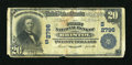National Bank Notes:Tennessee, Bristol, TN - $20 1902 Plain Back Fr. 650 The First NB Ch. #(S)2796. ...