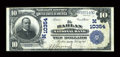 Harlan, IA - $10 1902 Plain Back Fr. 629 The Harlan NB Ch. # (M)10354
