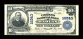 National Bank Notes:Kentucky, Harlan, KY - $10 1902 Plain Back Fr. 635 The Citizens NB Ch. #12243. ...