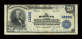 National Bank Notes:Kentucky, Harlan, KY - $20 1902 Plain Back Fr. 661 The Harlan NB Ch. # 12295....