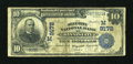 National Bank Notes:Missouri, Kansas City, MO - $10 1902 Date Back Fr. 618 The Security NB Ch. # (M)9172. ...