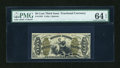 Fractional Currency:Third Issue, Fr. 1355 50c Third Issue Justice PMG Choice Uncirculated 64 EPQ....